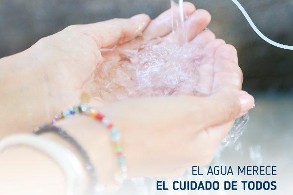 Con Manos Verdes cuidamos el agua y el medio ambiente