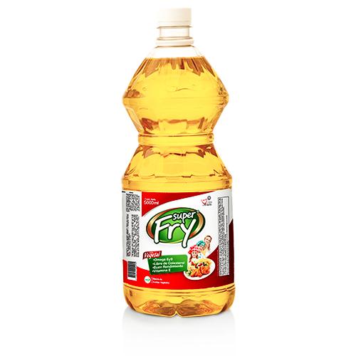Presentacion de aceite vegetal 5000 mililitros